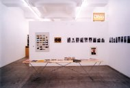 Book Works (London) / Ohio Photomagazin  (Cologne) / Onestar Press (Paris), Installation Shot, Kerstin Engholm gallery, 2003