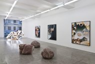 Curated by_Christoph Doswald, 2012, Installation Shot, Kerstin Engholm Galerie