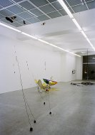 Net Gain and Loss, Mark Hosking, Installationshot, Kerstin Engholm Galerie, 2004