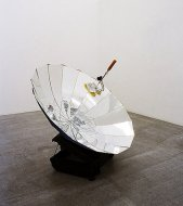 Eternal Solar Corn, 2004, various materials, approx. Ø 1,50 m