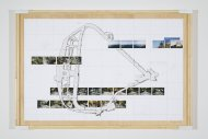 Reißbrett Nr. 93 (Alameda) (Drawing board No. 93 [Alameda]), 2006/07, various materials, 106,8 x 165 x 5,6 cm